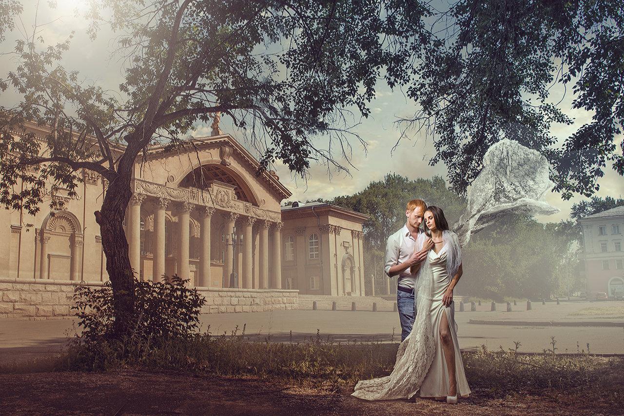 """Video_lesson """"Renaissance wedding photo edit"""""""