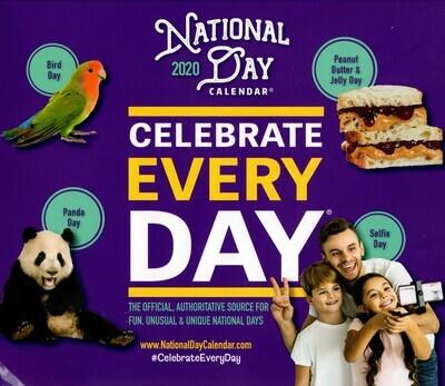National Day DESK Calendar