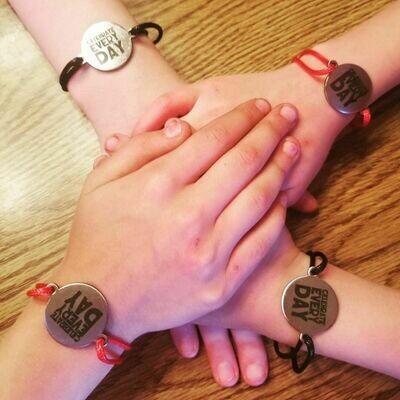 Celebrate Every Day Adjustable Cord Bracelets