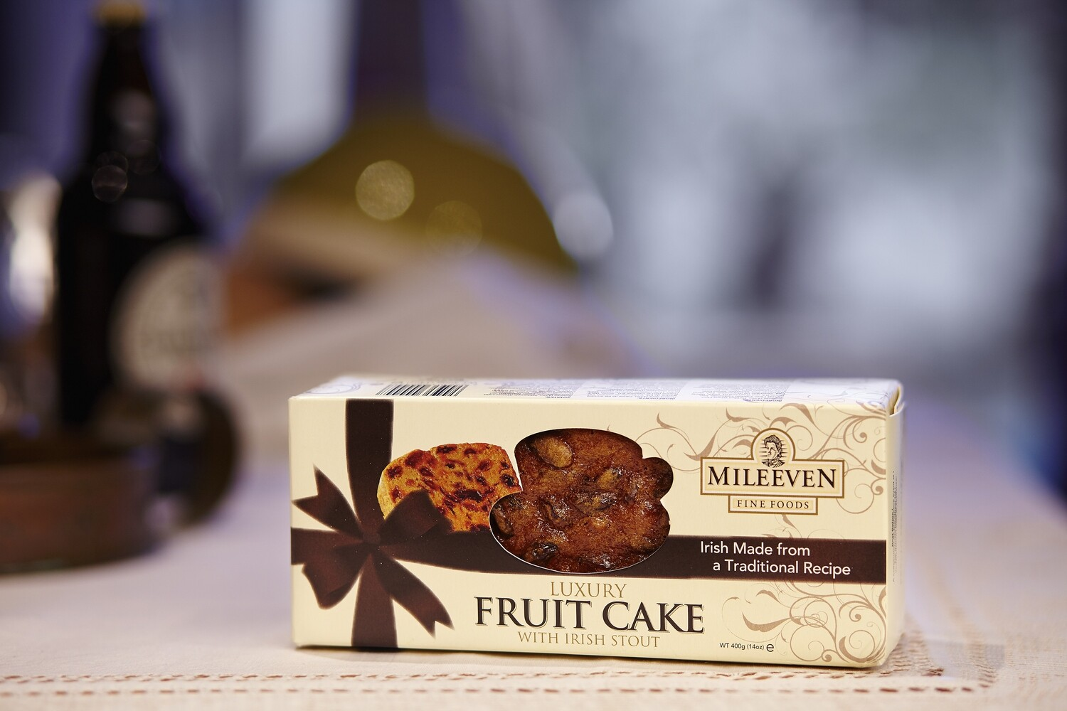 Mileeven Luxury Fruit Cake with Irish Stout