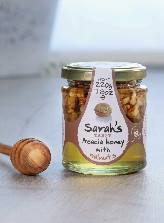 Sarah's Tasty Acacia Honey with Walnuts