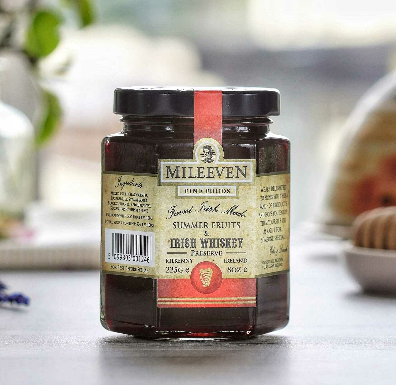 Mileeven Summer Fruits & Irish Whiskey Preserve