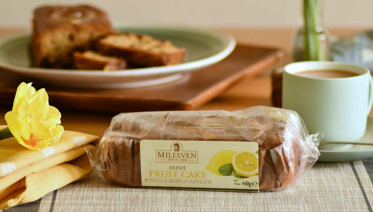Exclusive to the Online Shop! Mileeven Fruit Cake with Lemon & Ginger