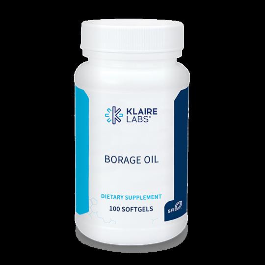 Borage Oil 1000 mg 100 softgels