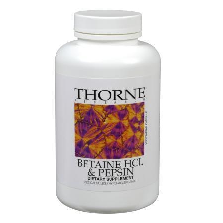 Betaine HCl & Pepsin 225 capsules