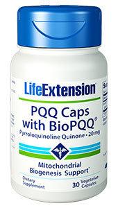 PQQ Caps w/BioPQQ  20mg 30capsules