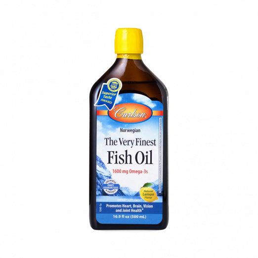 Very Finest Fish Oil Lemon