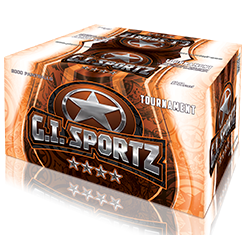 4 Star Tournament .68 caliber Paintballs - 2000 count box - available by pre order 72 hours prior to your game date
