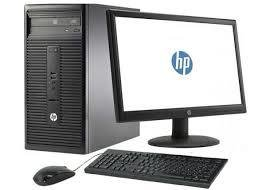 HP Desktop Bundle, i5, 500GB, 8GB RAM, Windows 10, all accessories