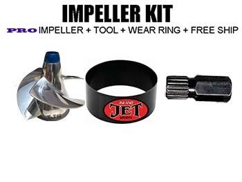 PRO Impeller Performance KIT Sea Doo impeller GTX 155 2010-up, GTX-S 155 10-up