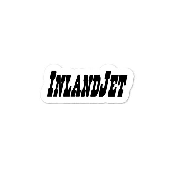 InlandJet Regulator Black Bubble-free stickers
