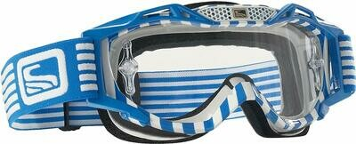 Scott Sports Voltage Pro Air Goggles with No Sweat Face Foam and Clear Anti-Fog Lexan Lens (Blue) C/O