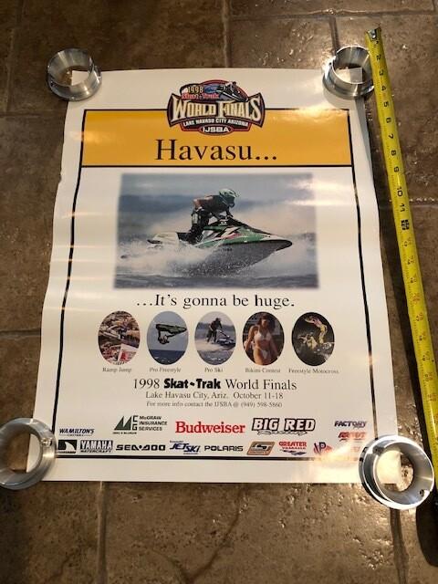 1998 Skat-Trak World Finals Poster