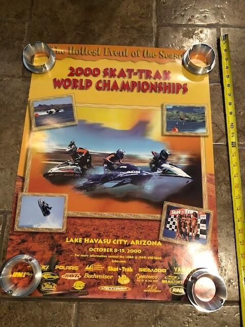 2000 Skat Trak World Championship poster
