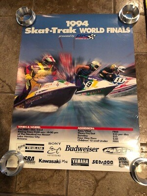 1994 Skat-Trak World Finals Presented by PJS poster