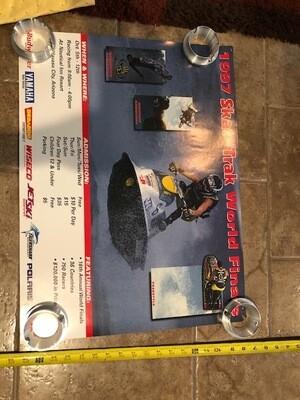 1997 Skat-Trak World Finals Poster