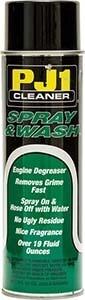 PJ1 Spray & Wash