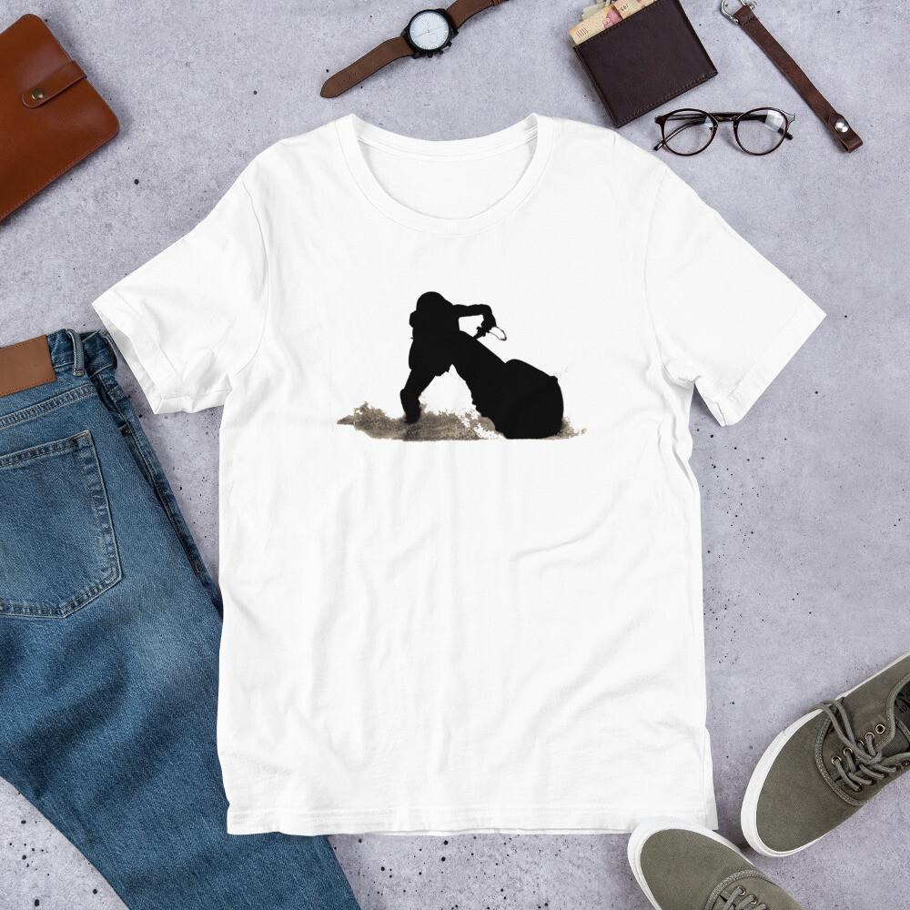 Leg Drag Jet-Skier Short-Sleeve Unisex T-Shirt