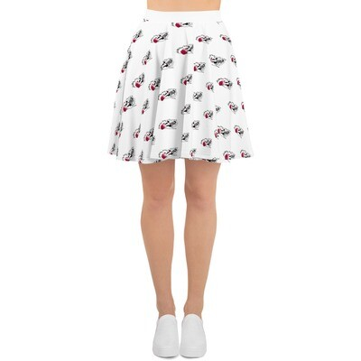 Action Jet Skier 1 Skater Skirt