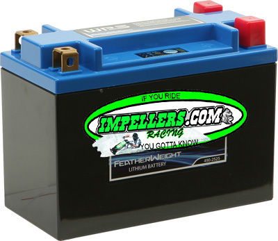 Featherweight Lithium PWC/boat Battery 50%-70% lighter, 6 Minutes to charge