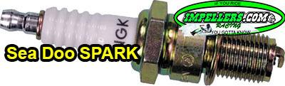 Sea Doo Spark 900 ACE Spark Plug CR8EB