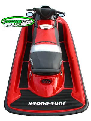 Hydro Turf Mats Jet Ski Mat STX 00-13 (7 piece kit) 12F/15F/STX-R/ BLACK