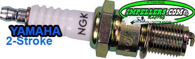 NGK BR8HS Spark Plug Yamaha Wave Runner 2 stroke