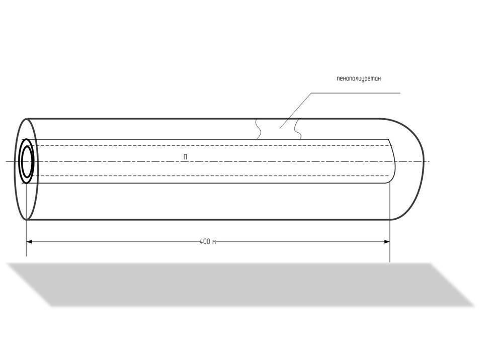 Расчет теплопотерь на участке теплосети (к зданию и от него )