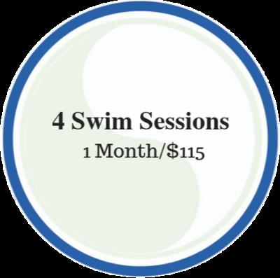 4 Swim Sessions