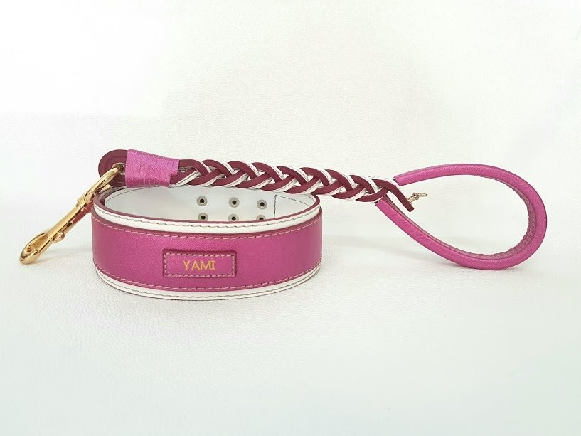 Kit Laserpink. Altezza collare 5 cm / collar height 1,97 in
