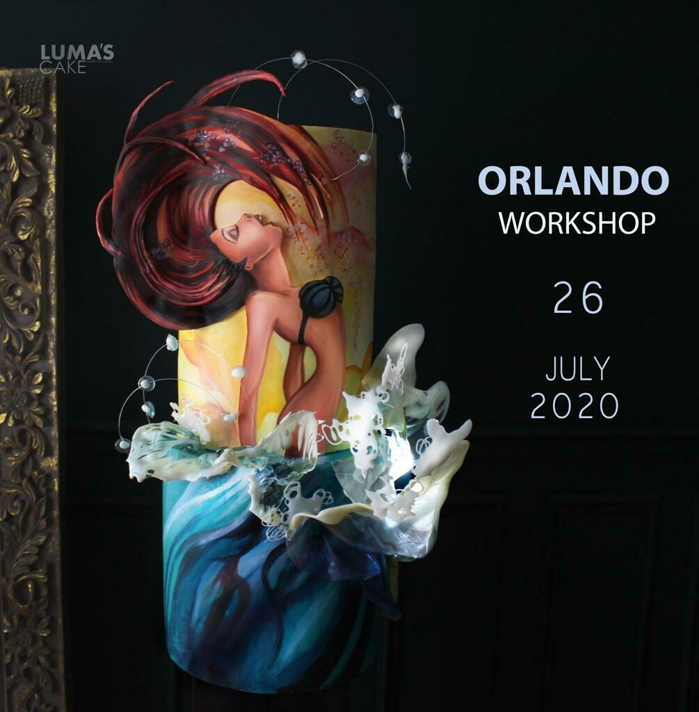 """SOLD OUT W/ NEW DATE: July 26. """"La Sirenita"""" Hands-On Workshop with Luma's Cakes"""