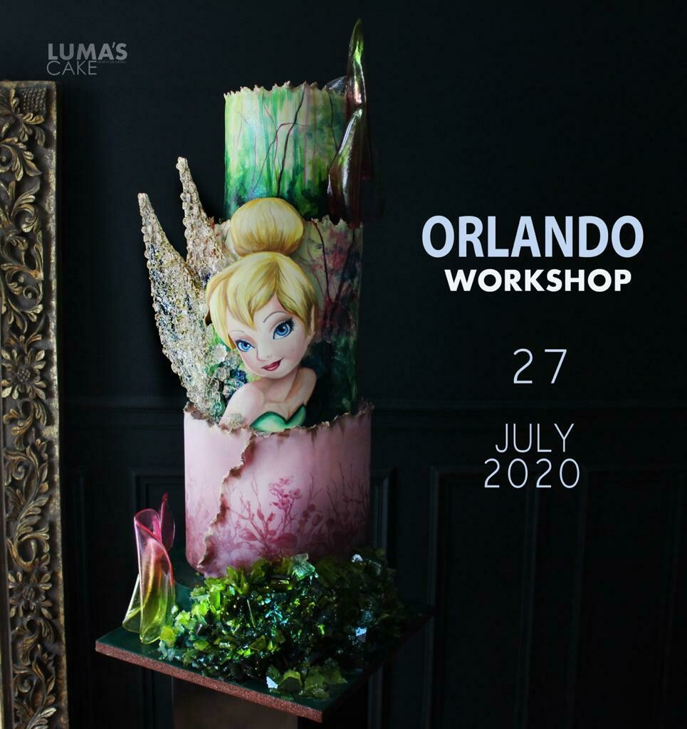 SOLD OUT W/ NEW DATE July 27 The Tinkerbell Cake with Luma's Cakes