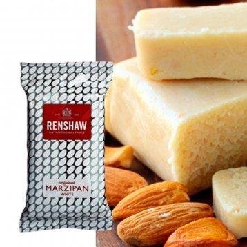 Renshaw Marzipan/Almond Paste White 1.1lb