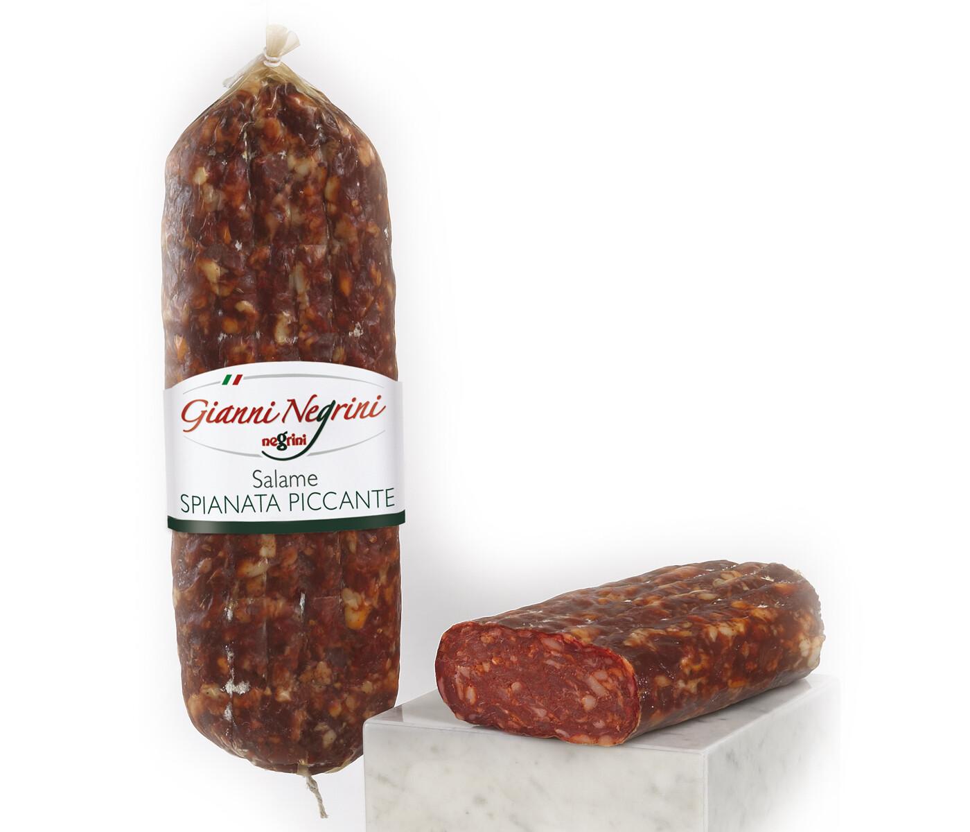 Salame Spianata Romana 1 kg metà s/v