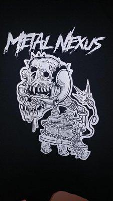 Metal Nexus Record Player Shirt
