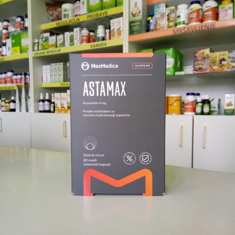 AstaMax (astaksantin) 60 kps