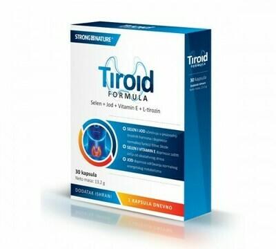 Strong Nature Tiroid formula 30 kapsula