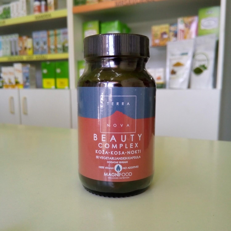 Terranova Beauty complex (koža, kosa, nokti) 50 kps