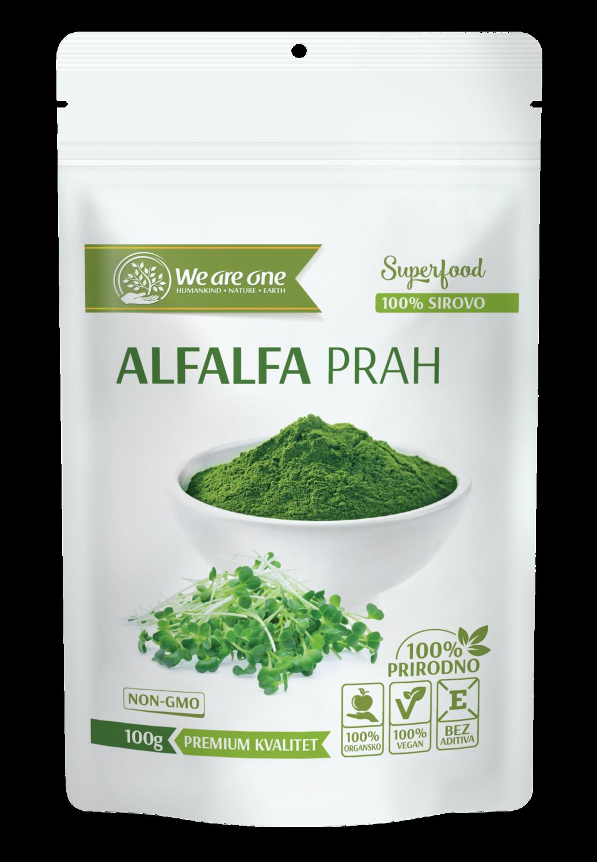 Alfalfa prah 100 g