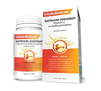 Strong Nature Natrijum askorbat sa bioflavonoidima 100 g