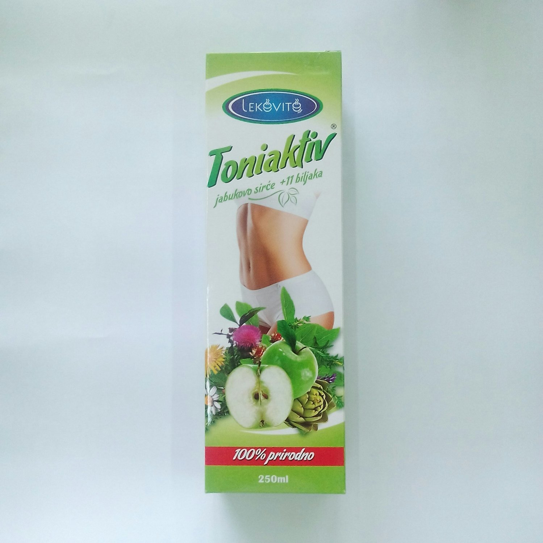 Toniaktiv (jabukovo sirće sa 11 biljaka) 250 ml Lekovito