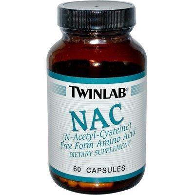 Twinlab NAC Fuel (N-acetil cistein) 600 mg  - 60 kapsula