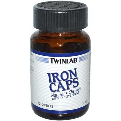 Twinlab Iron Caps (helirano gvožđe) 100 kps