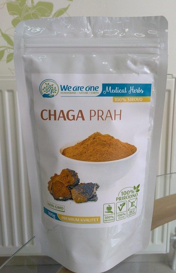 WAO Chaga (čaga) prah  - za imunitet 100 g