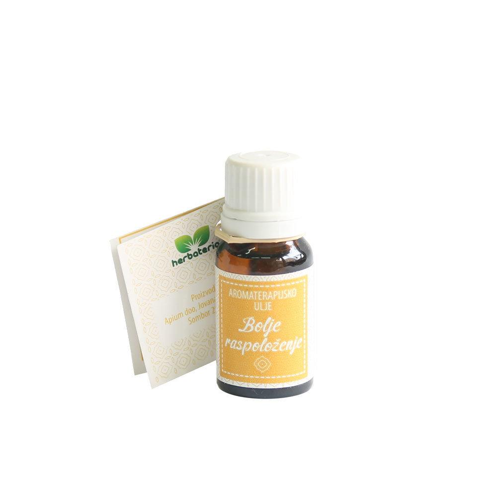 Herbateria - Aromaterapijsko ulje za inhalaciju za bolje raspoloženje 10 ml