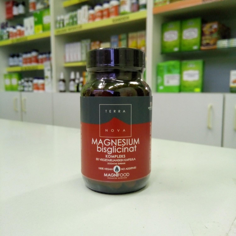 Terranova Magnezijum bisglicinat 100 mg 50 kps