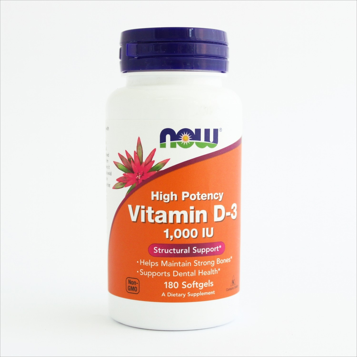 Now Vitamin D-3 1000 IU -za jake kosti(180 kapsula)