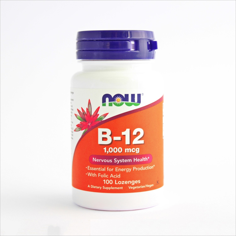 Now Vitamin B 12 1000 mcg 100x