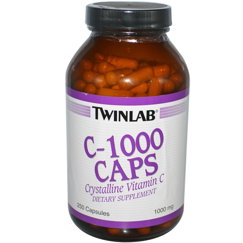 Twinlab Vitamin C 1000mg, 250 kapsula