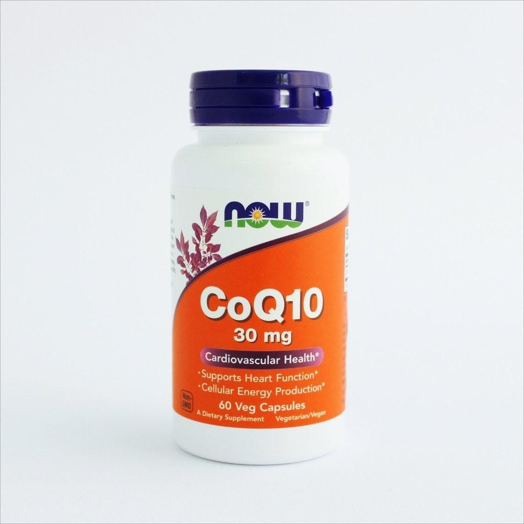NOW Foods - Koenzim Q10 30mg (60 kapsula)